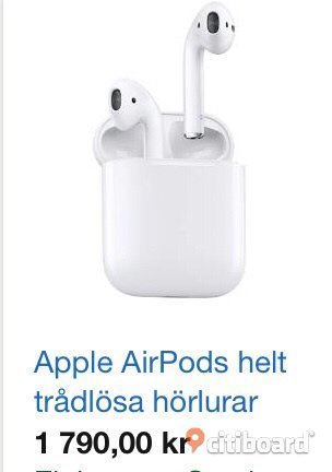 Airpods Stockholm