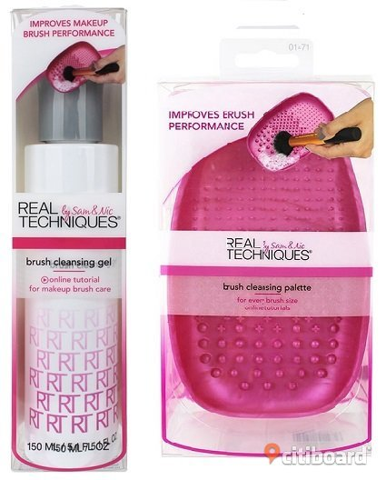 Real Techniques Brush Cleansing Gel+Brush Cleansing Palette Övrigt Landskrona