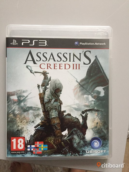 Assassin's Creed III  PS3 Perstorp