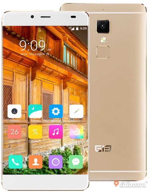 Elephone S3 5.2inch Bezel-less 2.5D Arc FHD Screen Android 6.0 MTK6753 Octa Core , 3GB 16GB 13.0MP Touch ID Fast Charge Metal Body - Gold Gävle / Söderhamn / Hudiksvall / Sandviken Sälj