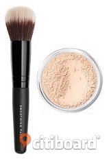 NYTT Bareminerals kit Mineral Veil i travel size+Smoothing Face Brush i travel size Landskrona Sälj