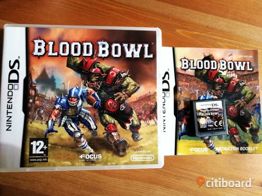 Blood Bowl Komplett - Nintendo DS Kungälv