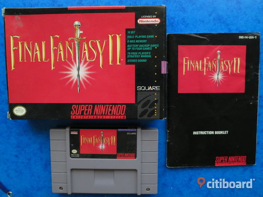 Final Fantasy 4, Super Nintendo Nacka