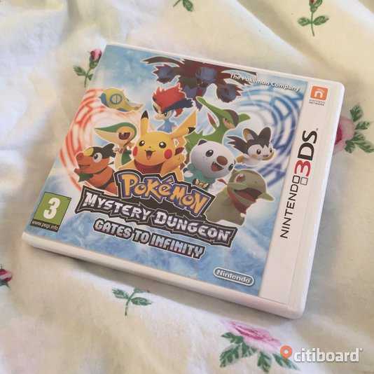 Pokémon Mystery Dungeon Gates To Infinity - 3DS/2DS