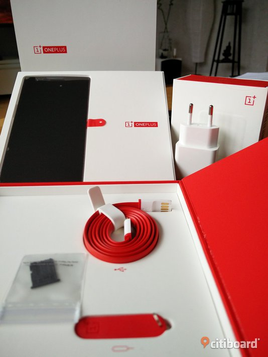 OnePlus One 64Gb Sandstone Black, Olåst