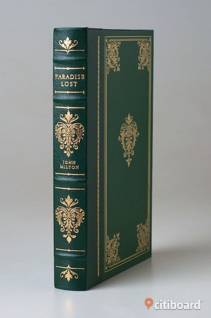 "JOHN MILTON'S ""PARADISE LOST"" in Franklin Library edition Stockholm Stockholm"