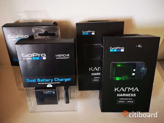 Gopro Kit - Dual Battery Charger / Karma Harness Umeå Sälj