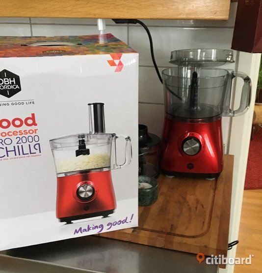 Food processor, OBH Nordica, Chili, nyskick