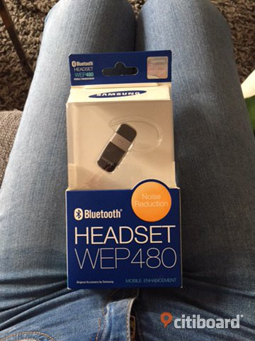 Bluetooth headset wep 480 Staffanstorp