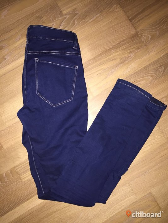 Slimfit jeans i nyskick Midja 27-28 tum Varberg Sälj