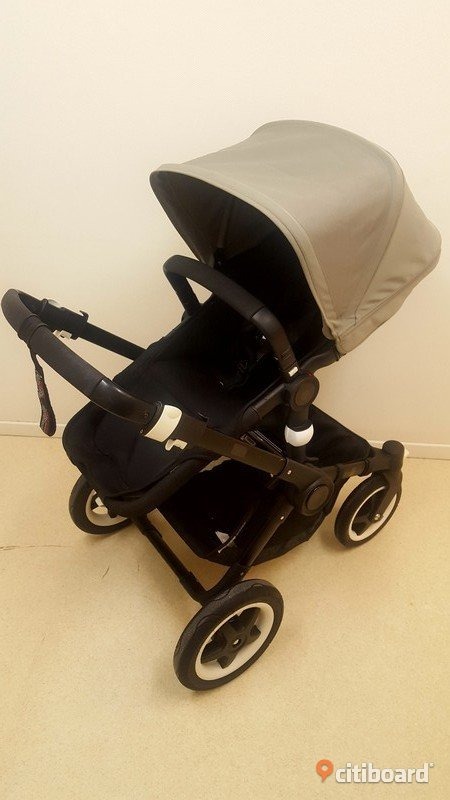 Bugaboo buffalo all black Stockholm