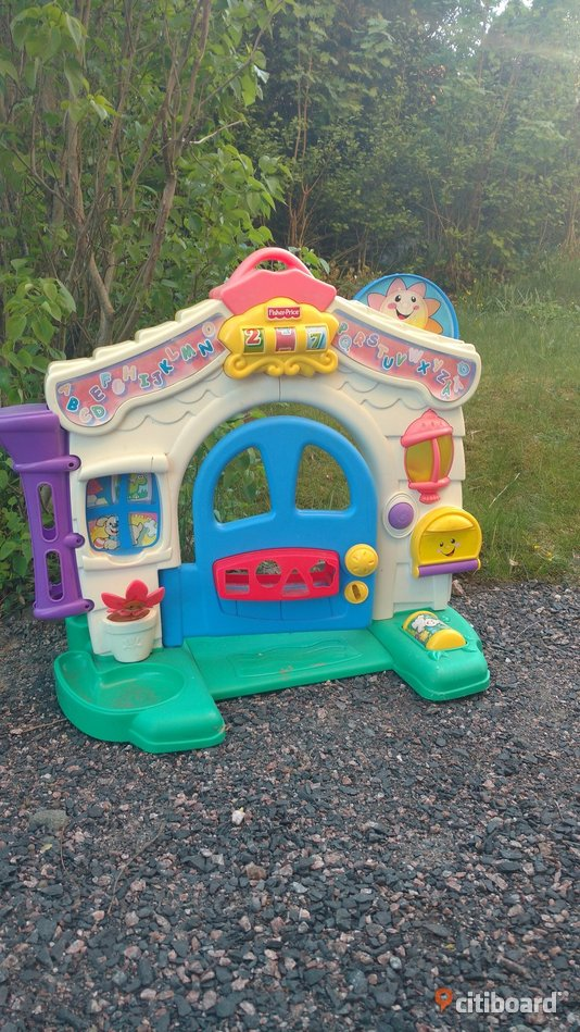 Fisher Price aktivitetshus/ Learning home Jönköping