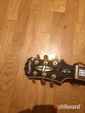 "Epiphone ""Black Beauty"" custom Les Paul Staffanstorp"
