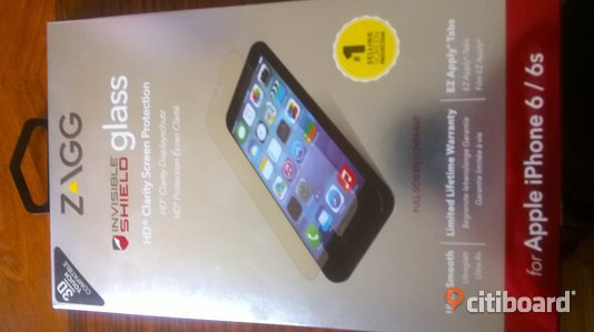 Zagg invisible Glass for apple iphone 6/6s Jönköping