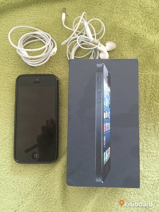 Iphone 5 16 gb ny battery  Borås / Mark / Bollebygd