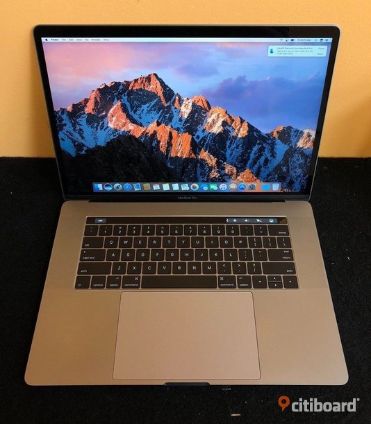 Apple MacBook Pro 15.4 Retina Intel ® Quad Core ™ i7 2,8 GHz, Haswell ™ 16 GB-ram, 512 GB SSD OS X Yosemite Silver Touch Bar Stockholm