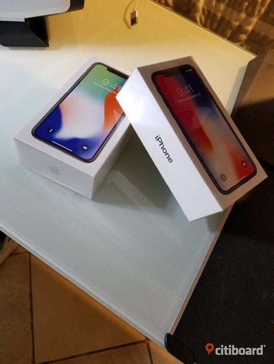 Apple iPhone X 256GB and Samsung Galaxy S9/9Plus Available. Gotland