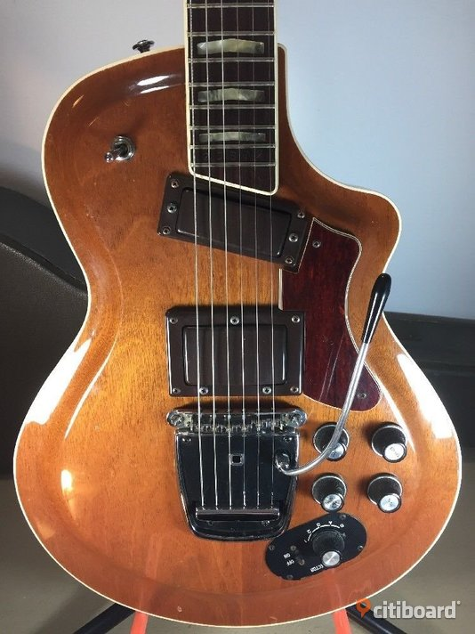 1972 YAMAHA SG 80-T ELECTRIC GUITAR Solid Body W OHSC Brown Case Stockholm Botkyrka