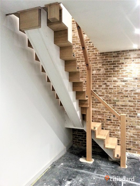 Solid wood stairs high quality. Experience of 20 years Karlshamn