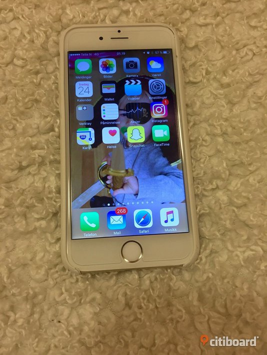 Iphone 6 gold 64gb m.kvitto Gagnef