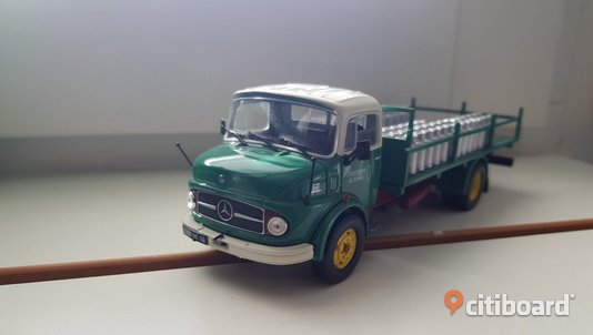 1968 Mercedes-Benz L1113 Mjölktransport 1/43