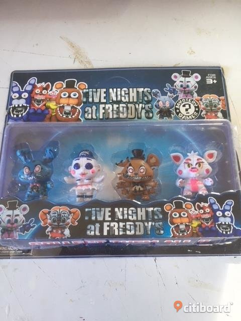 FIVE NIGHTS AT FREDDYS 4 ST FIGURER 7 CM Uppsala