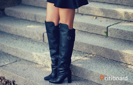 H&M Paris Collection over knee boots
