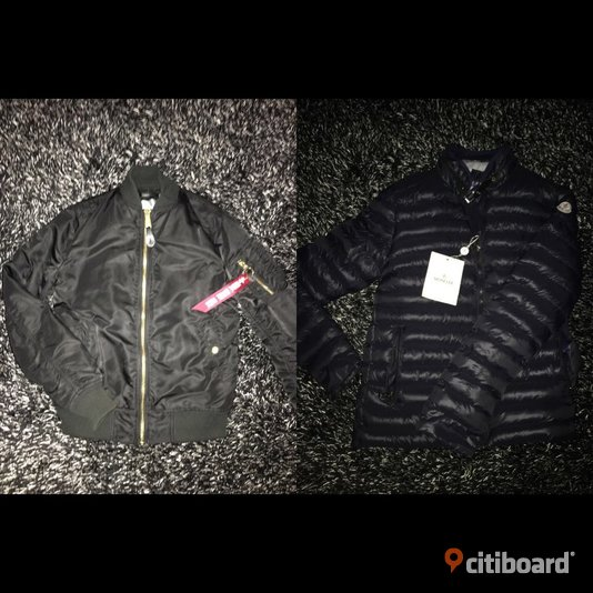 MONCLER & ALPHA INDUSTRIES