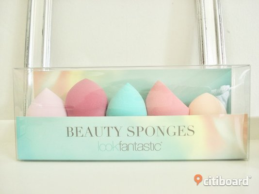 Lookfantastic - Beauty Sponges - Set med 5 st make-up svampar - Nya! Övrigt Malmö