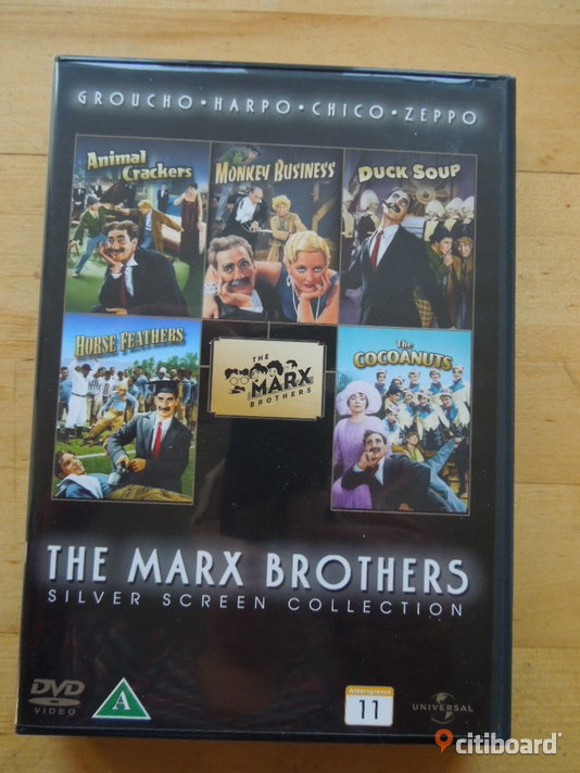 The Marx Brothers Silver Screen Collection Stockholm Stockholm