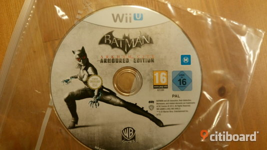 Wii U Batman: Arkham City - Armored Edition Kungälv