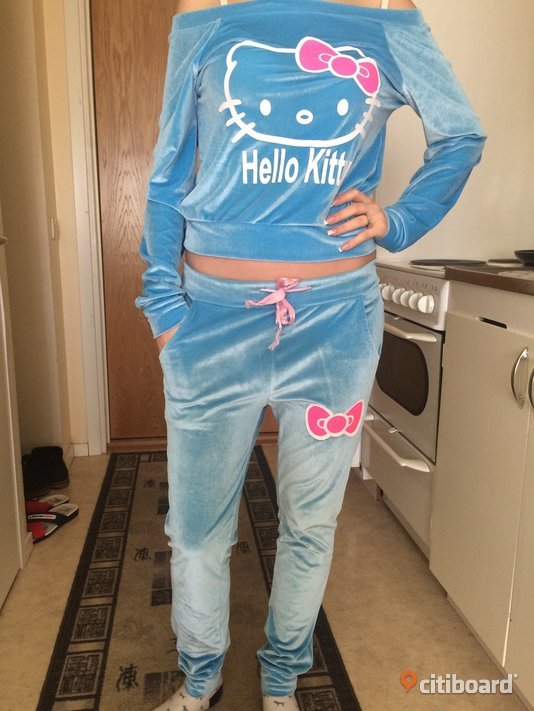 plysch overall hello kitty Uppsala