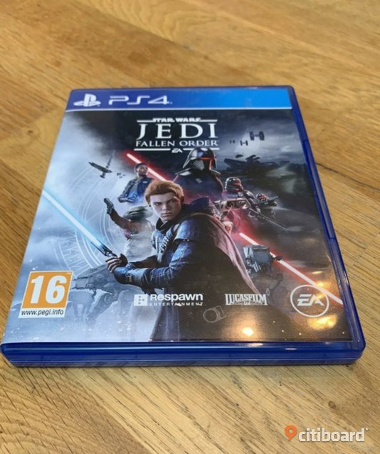 Star Wars Jedi: Fallen Order & Modern Warfare PS4 Västerås