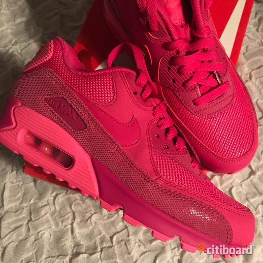 the latest 0ab76 1177d Nike Air Max 90 - Rosa - Storlek  37,5