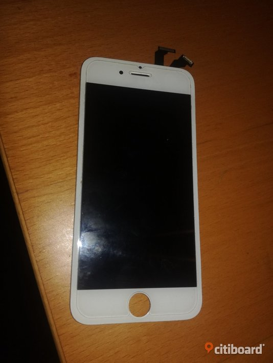 IPhone 6 LCD Display Glas Original - Vit Lund