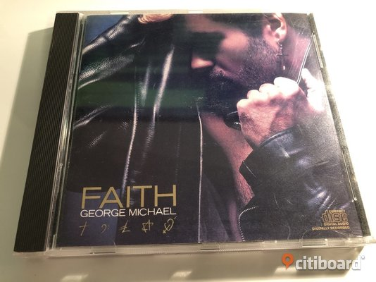 CD - George Michael - Faith Göteborg