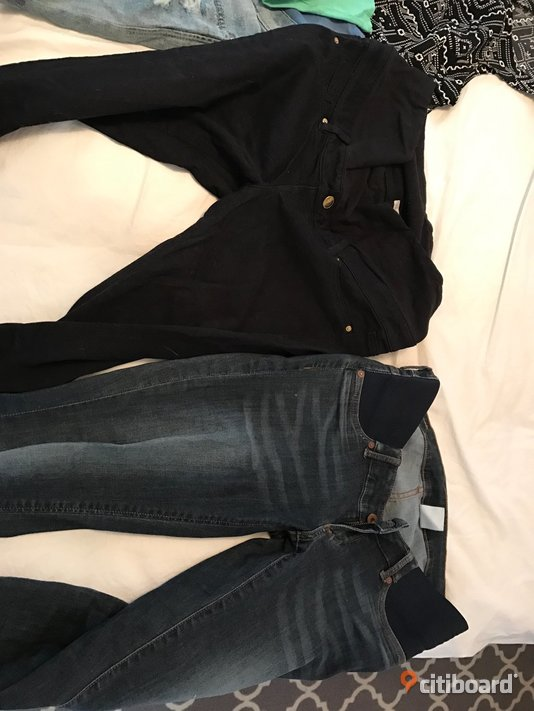 Gravidjeans/mamajeans Midja 27-28 tum Halmstad