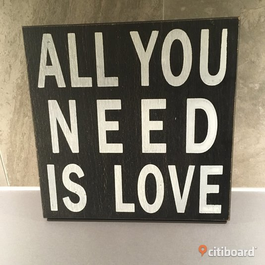 """ALL YOU NEED IS LOVE"" TAVLA  Solna"