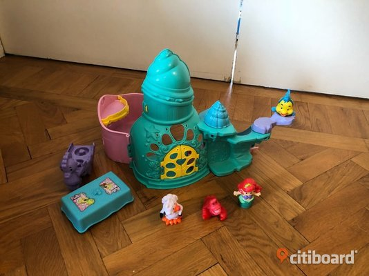 Fisher-Price Little People Den Lilla Sjöjungfrun Slott