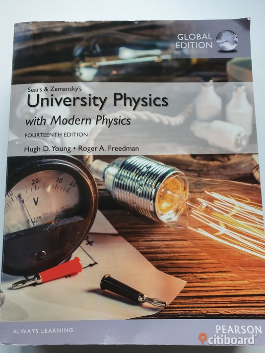 University Physics with Modern Physics, Global Edition Norrbotten Luleå Sälj