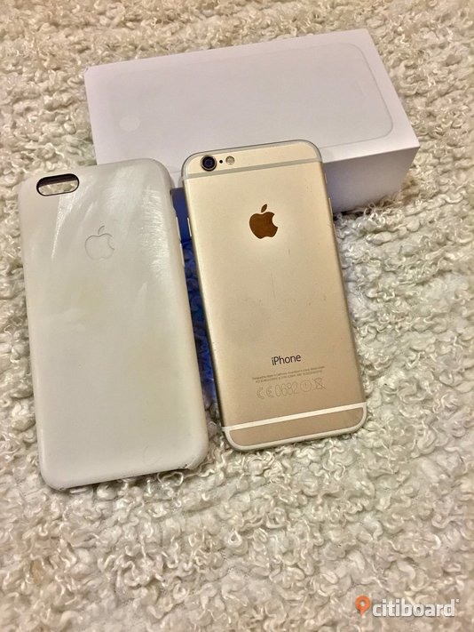 Iphone 6 gold 64gb m.kvitto Gagnef Sälj