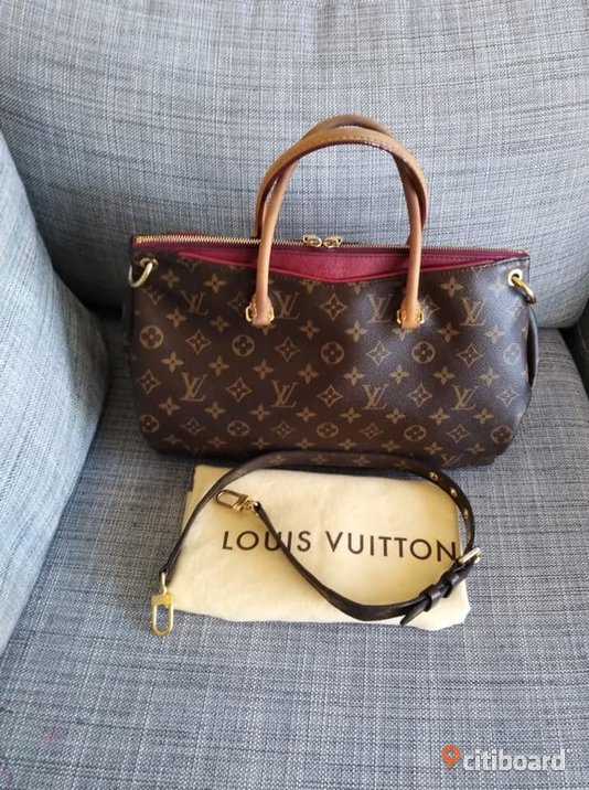 Äkta Louis Vuitton Pallas MM Lund