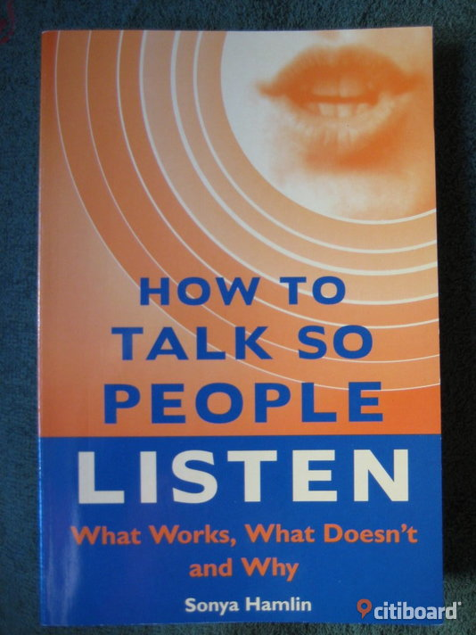 How to Talk so People Listen Böcker & Studentlitteratur Umeå