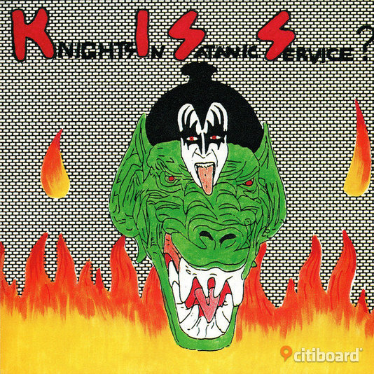 Kiss - Knights In Satanic Service? 1993, CD, Hårdrock Umeå