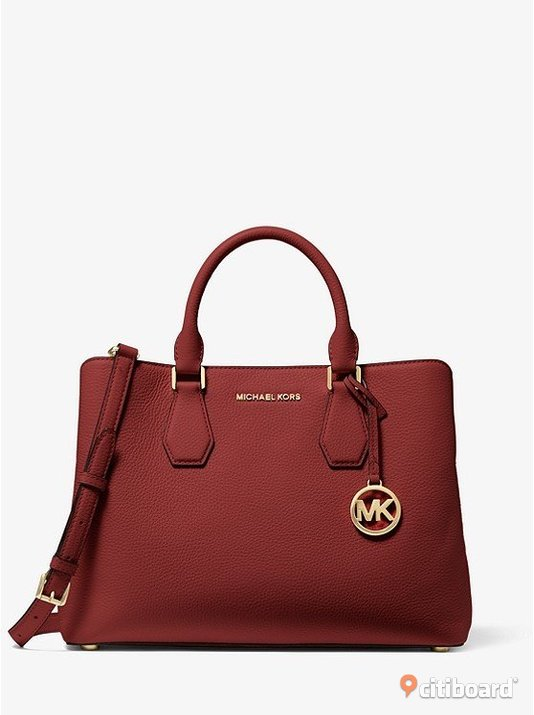 MICHAEL MICHAEL KORS  Camille Large Leather Satchel   Kiruna