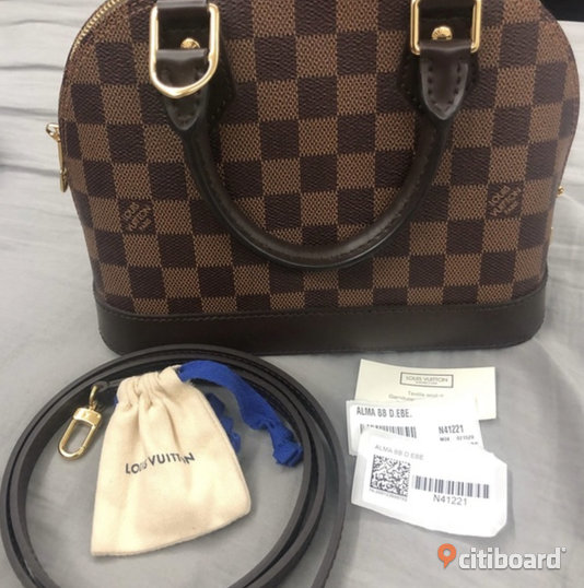 Louis Vuitton Alma bb Örebro Örebro