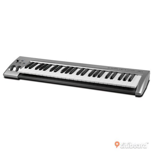 M-Audio Keystation 49es MKII USB-MIDI-Keyboard Umeå
