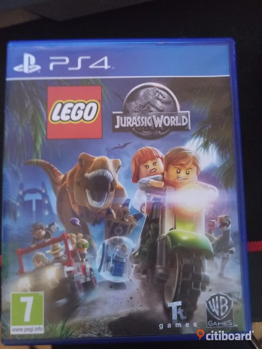 Lego jurrasic world ps4 Fritid & Hobby Norrköping