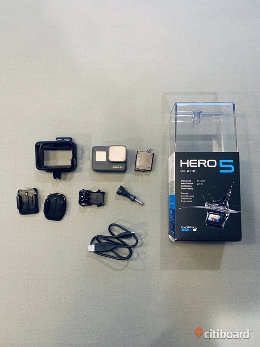 Go Pro hero 5 black edition  4 ultra K edition Elektronik Jönköping Vaggeryd
