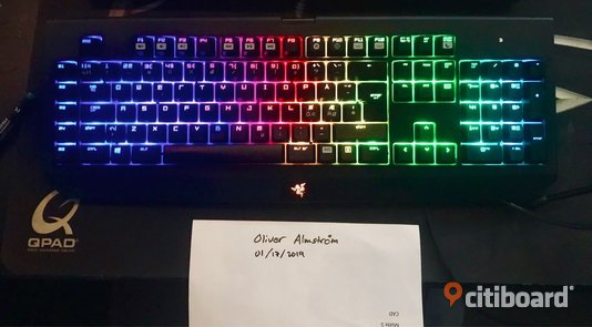Razer BlackWidow Chroma Lomma